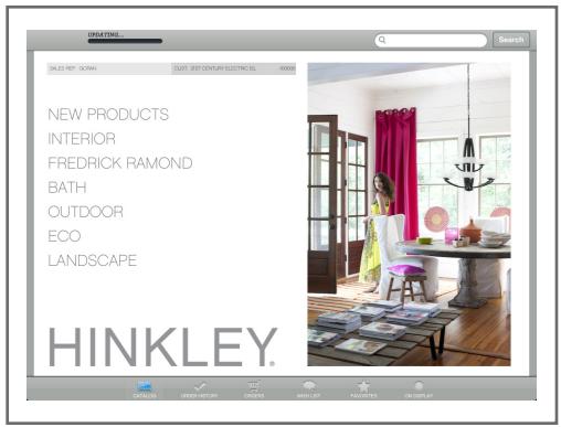 Mobile Macola Order Entry Success Story: Hinkley Lighting