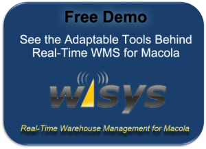 Real-Time Warehouse Management for Macola Demo