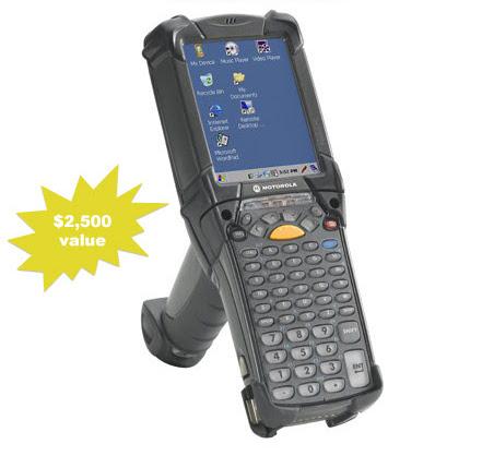 Handheld Scanner Giveaway at Exact Macola Evolve