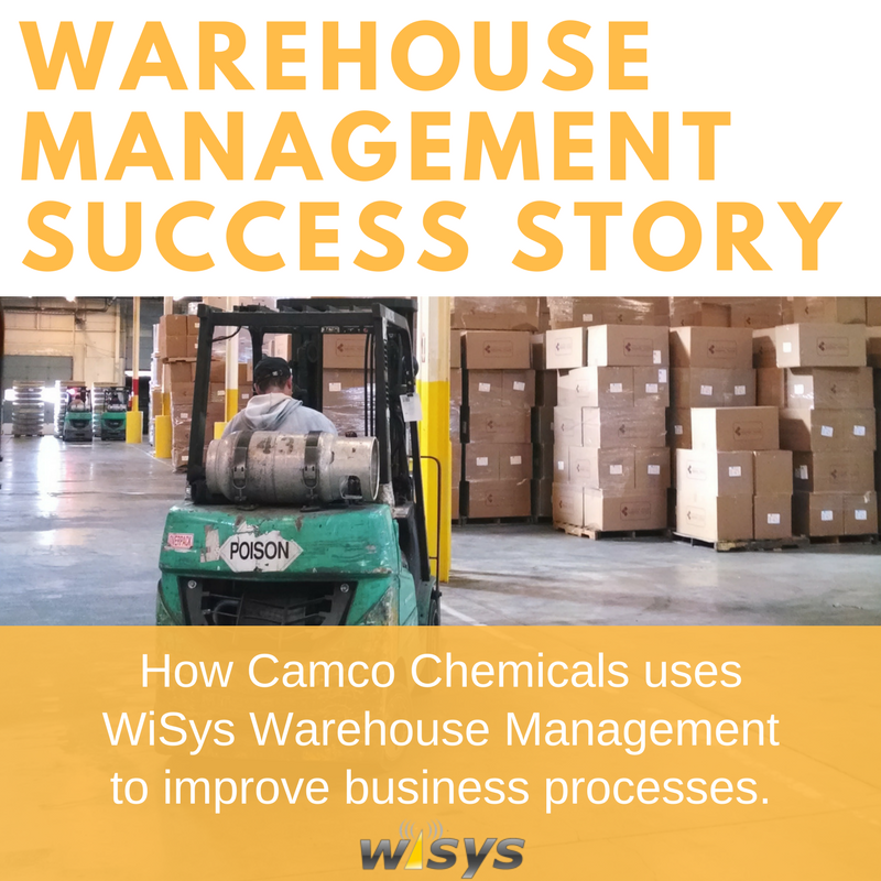 How Camco Chemicals Uses WiSys WMS for Macola to Streamline Business Processes