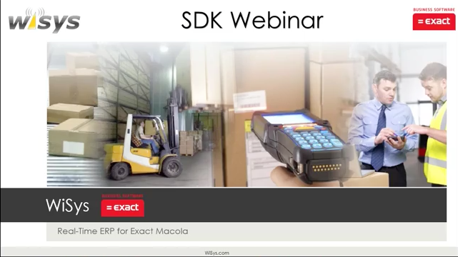 View the WiSys New 4.1 Business Objects SDK Webinar