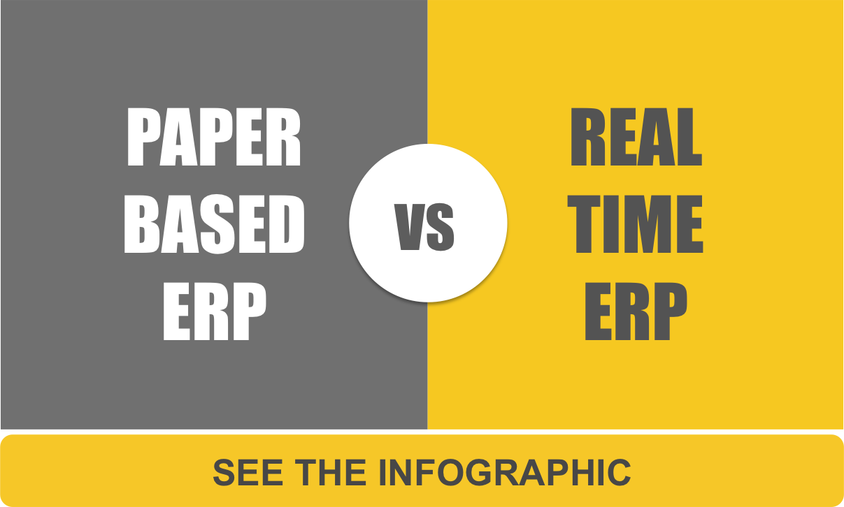 Paper-Based vs. Real-Time ERP
