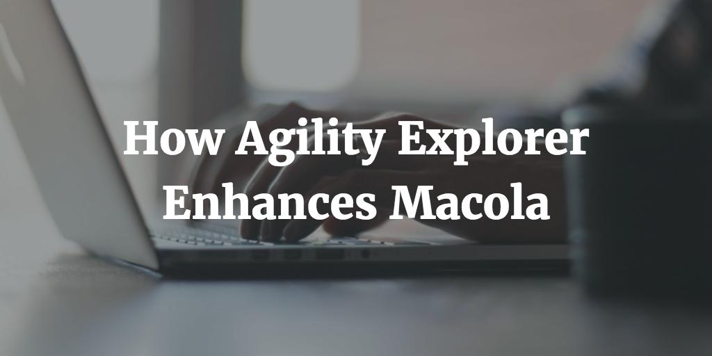 Macola Order Management: Agility OE Open Order Master Grid