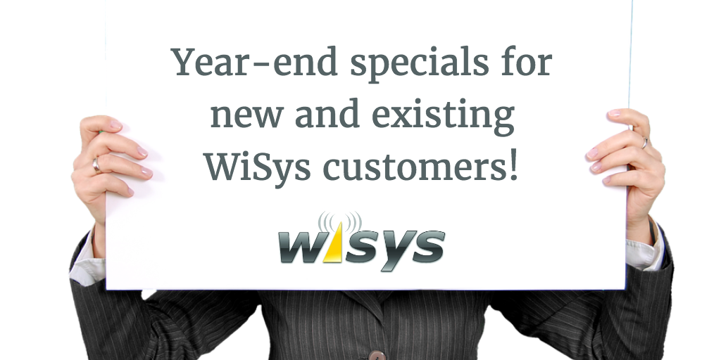 WiSys Year-End Promotional Savings 2016
