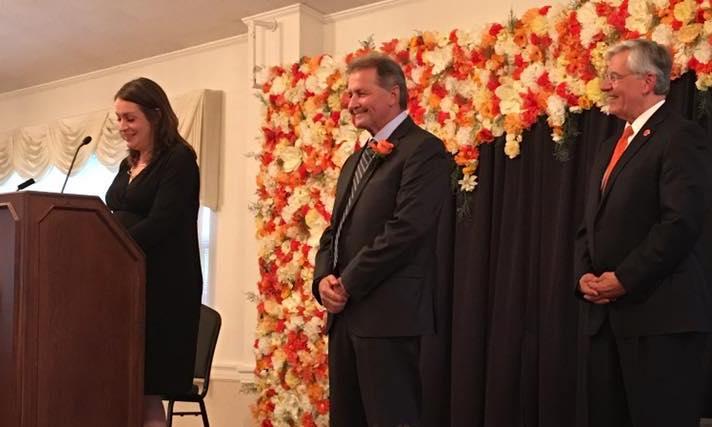 Bruce Hollinger Receives Distinguished Alumni Award from Ohio Northern University
