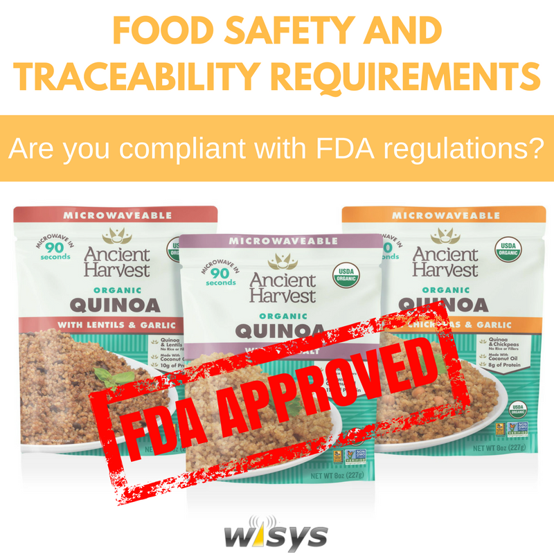 FDA Food Safety and Traceability Requirements: Are You