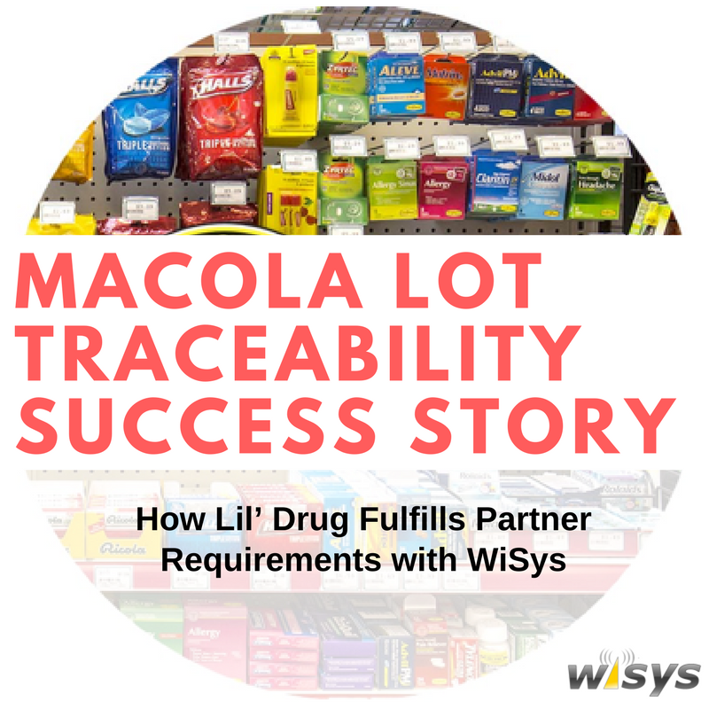 How Lil' Drug Store Products Fulfills Partner Traceability Requirements with WiSys