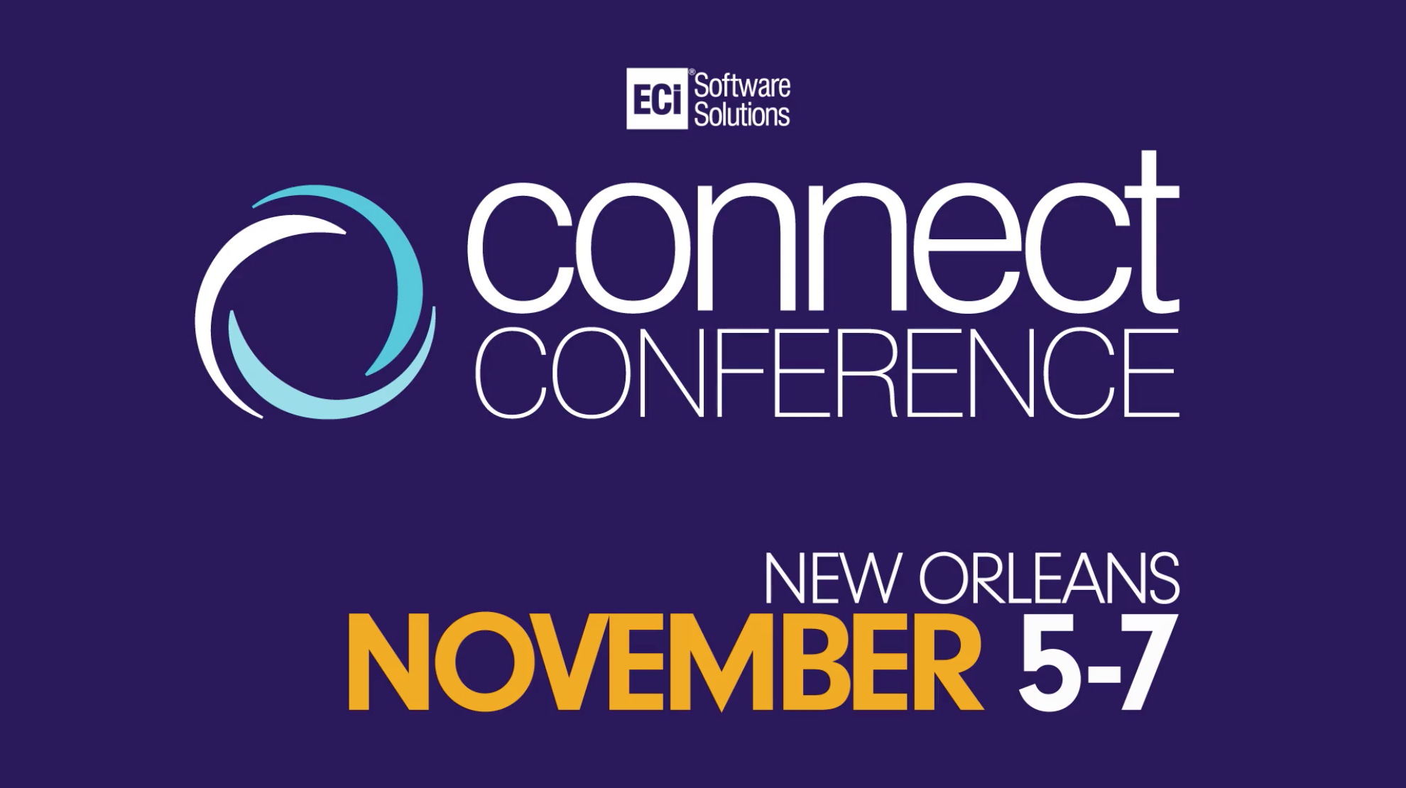 Join WiSys at the ECi Connect Conference for Macola Users in November