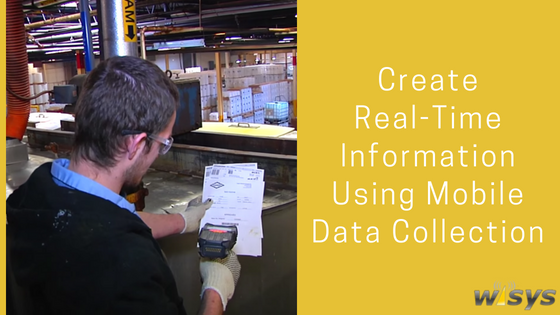 How Mobile Data Collection in the Warehouse Creates Real-Time Information