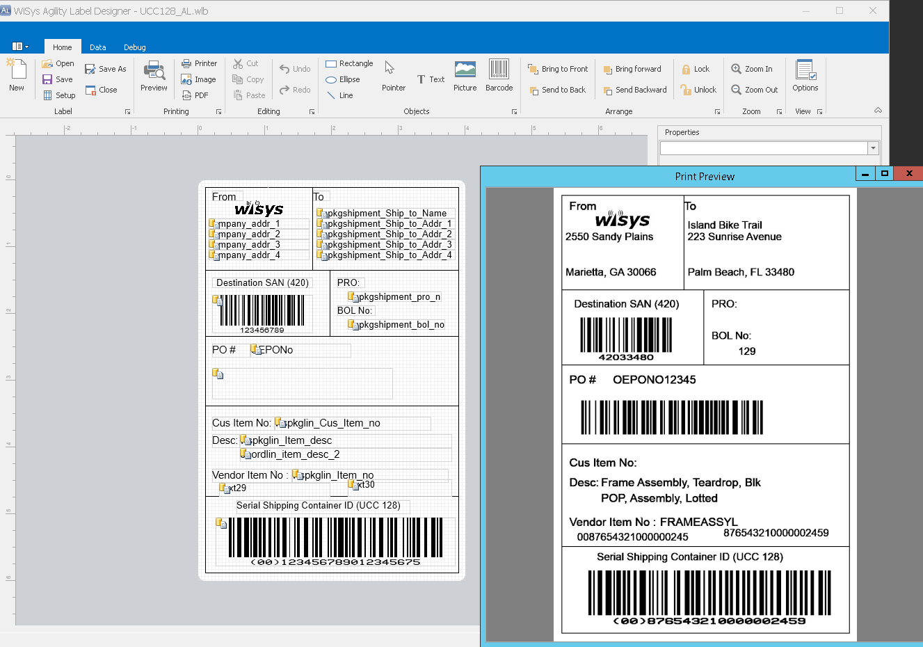 How to Create Labels in the New Agility Label Designer