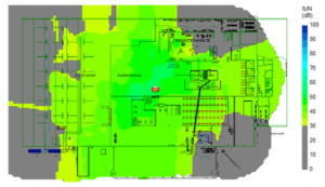 warehouse wireless coverage map