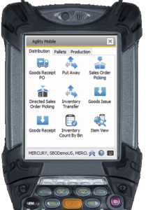 Agility Essentials WMS for SAP Business One crop