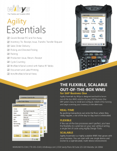 Agility-Essentials-Brochure-wms-for-sap-business-one