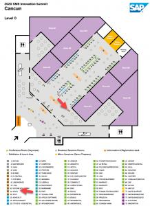 2020 Cancun SMB Innovation Summit Floor Plan