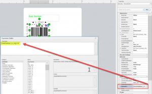 agility label designer conditional formatting
