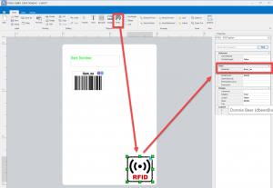 agility label designer data value