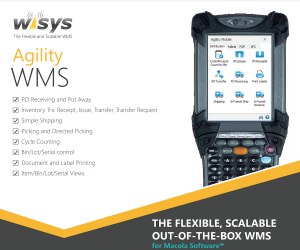 agility wms for macola